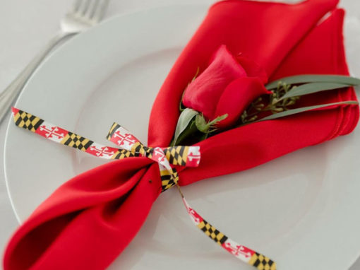 Maryland Themed Wedding